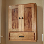 A Bathroom Wall Cabinet Build So I Joined In To This After It Was Completed Made Another Larger For My Hand Tools