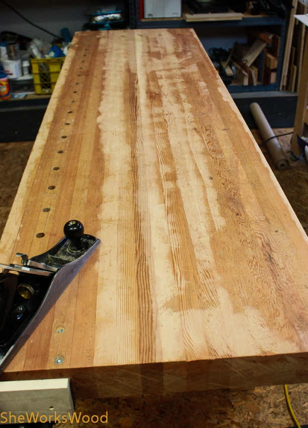 workbench wood top