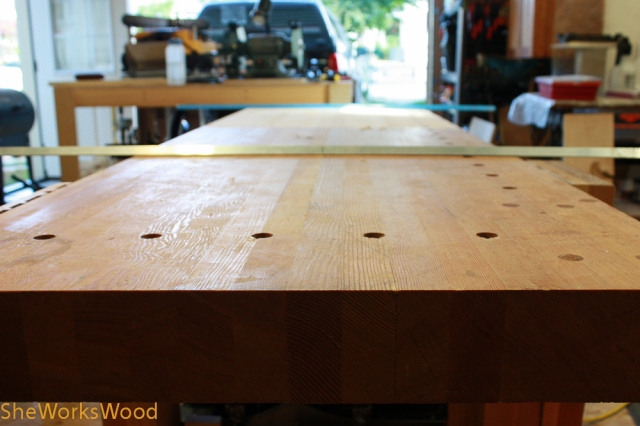 work bench flatten (1 of 4)