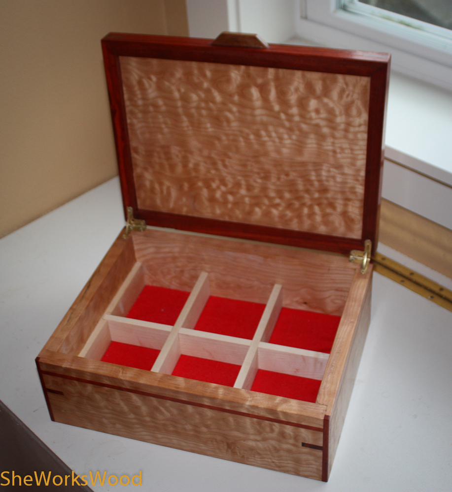 How to build building jewelry box dividers pdf plans for How to build a ring box