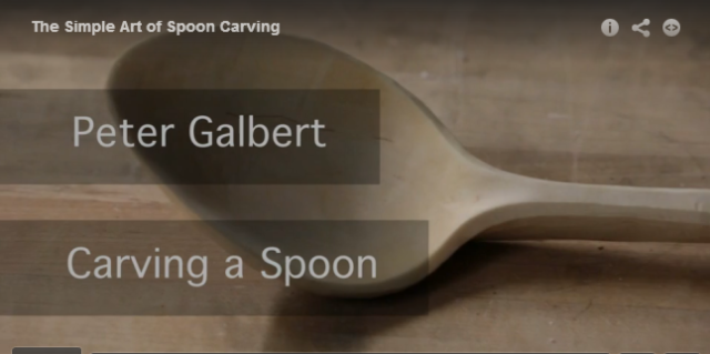 spoon carving